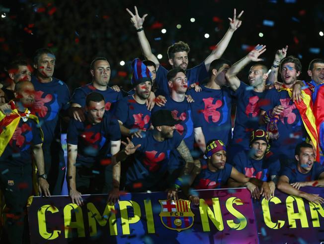 Celebracja w razie wygrania Copa del Rey