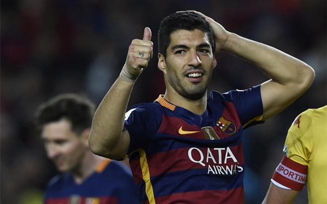 Suárez z kontuzją uda