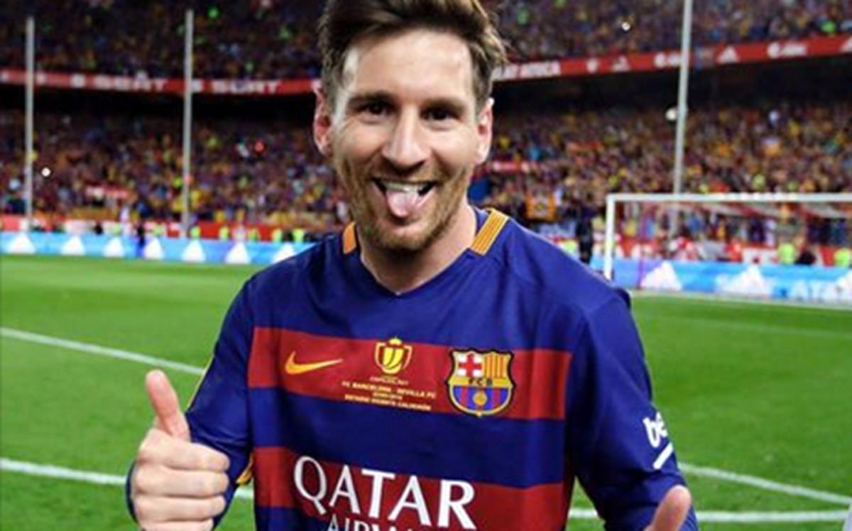 FC Barcelona chce przedłużyć kontrakt z Messim do 2022 roku