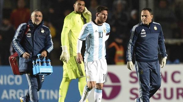 Argentyńska prasa nie sądzi by Messi zagrał w meczu z Chile