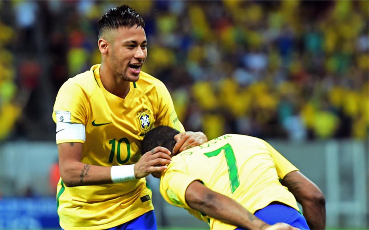Neymar: Chciałbym zobaczyć Usaina Bolta w Rio