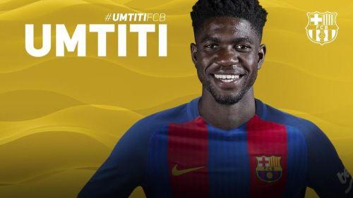 Oficjalnie: Umtiti w FC Barcelonie