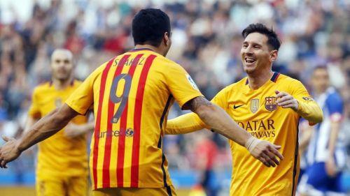 Messi i Suárez nominowani do nagrody UEFA