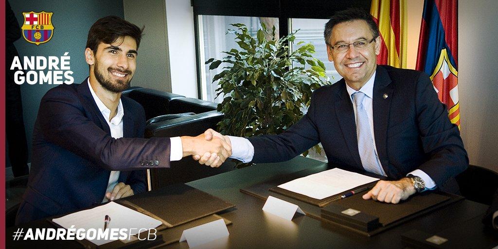 André Gomes podpisał kontrakt!