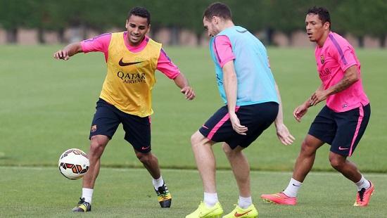 Kluczowy tydzień dla Adriano, Douglasa i Vermaelena
