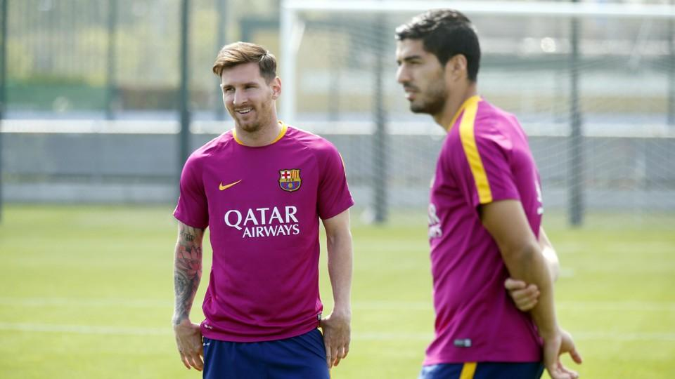 Leo Messi uda się wraz z resztą drużyny na zgrupowanie do St. George's Park