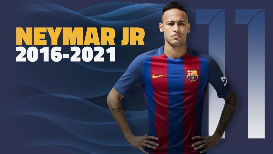 Neymar przedłużył kontrakt do 2021 roku