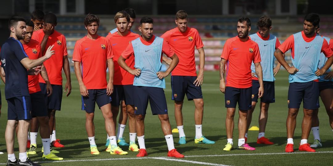 Trzeci dzień treningów w Ciutat Esportiva