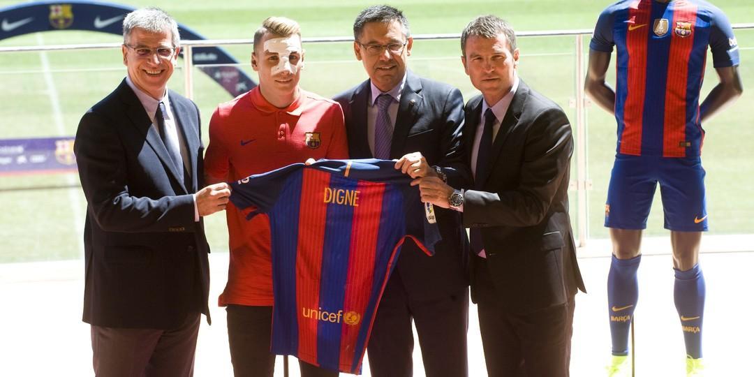 Lucas Digne podpisał kontrakt