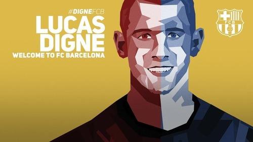 OFICJANIE: Lucas Digne nowym piłkarzem FC Barcelony!