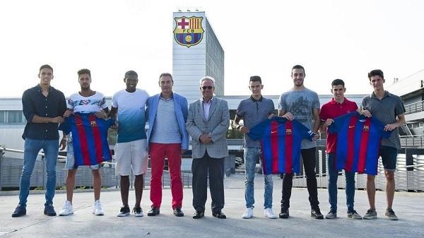 Prezentacja nowych zawodników Barçy B