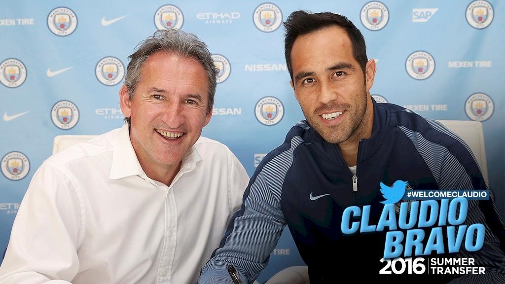 Oficjalnie: Claudio Bravo zawodnikiem Manchesteru City!