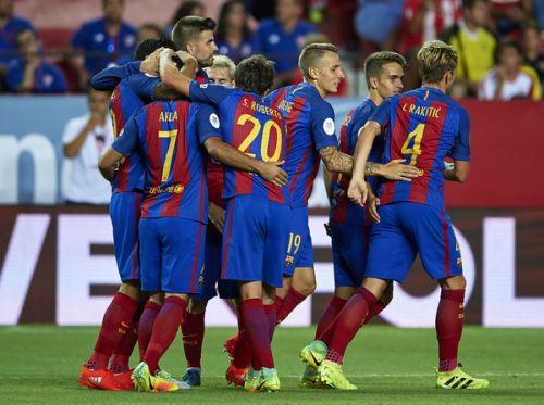 FC Barcelona – Sevilla FC; Składy