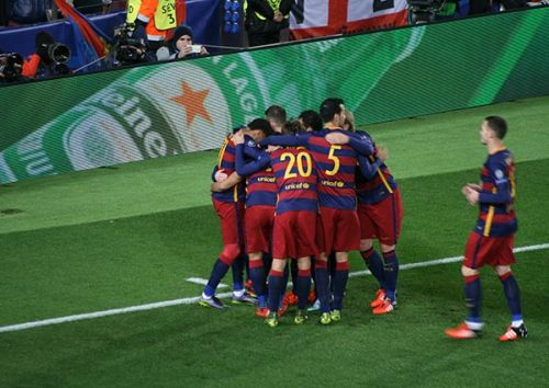 Sevilla FC – FC Barcelona; Składy