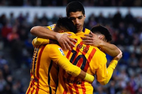 FC Barcelona – UC Sampdoria; Składy