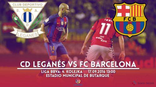 Zapowiedź meczu: CD Leganés – FC Barcelona