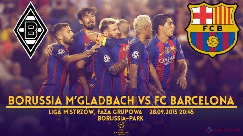 """Zapowiedź meczu: Borussia M""""gladbach – FC Barcelona"""