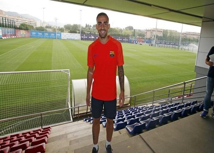 Pierwszy trening Paco Alcácera