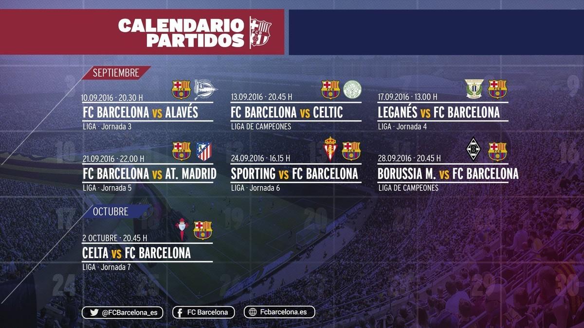 Intensywny wrzesień dla zawodników FC Barcelony