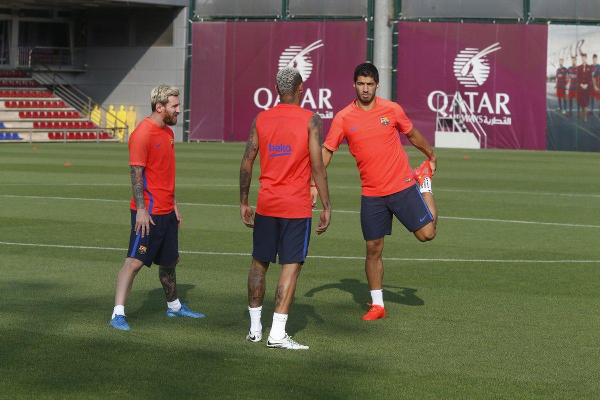 Luis Suárez wrócił do treningów