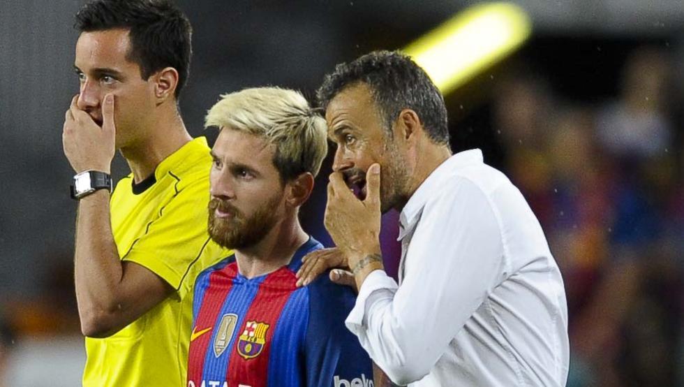 Luis Enrique spotkał się z zawodnikami, by omówić przyczyny porażki