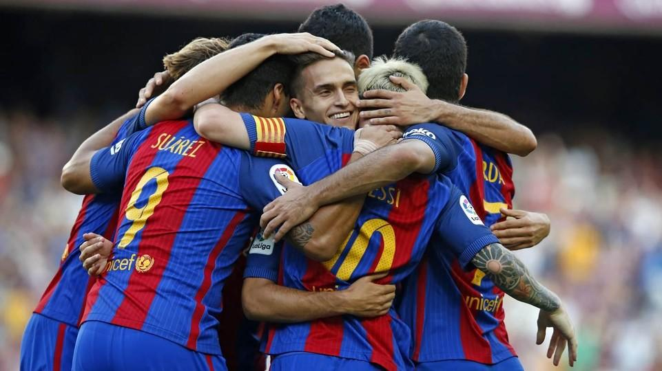 FC Barcelona – Deportivo Alavés; Składy