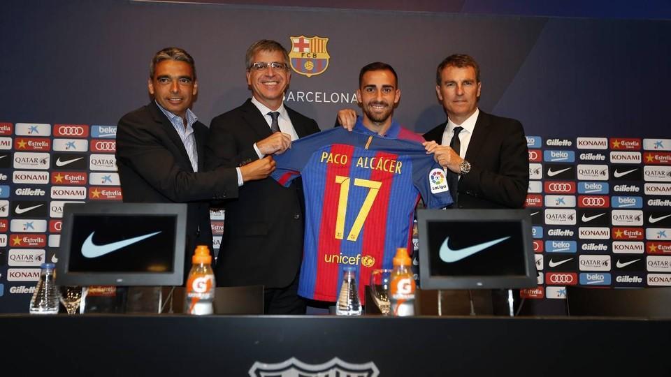 Paco Alcácer: Przejście do FC Barcelony, to krok w przód