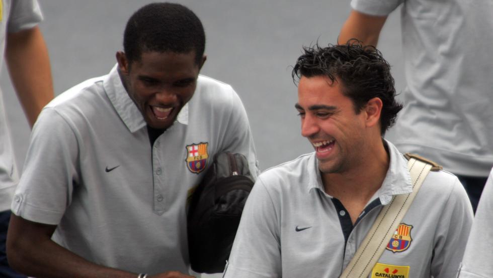 """Eto""""o: Jeśli Złota Piłka byłaby sprawiedliwa, to Xavi zdobyłby ich pięć czy sześć"""