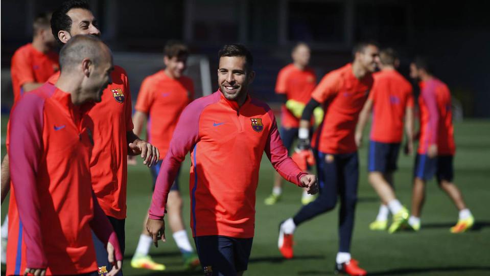 Trening z myślą o Atlético