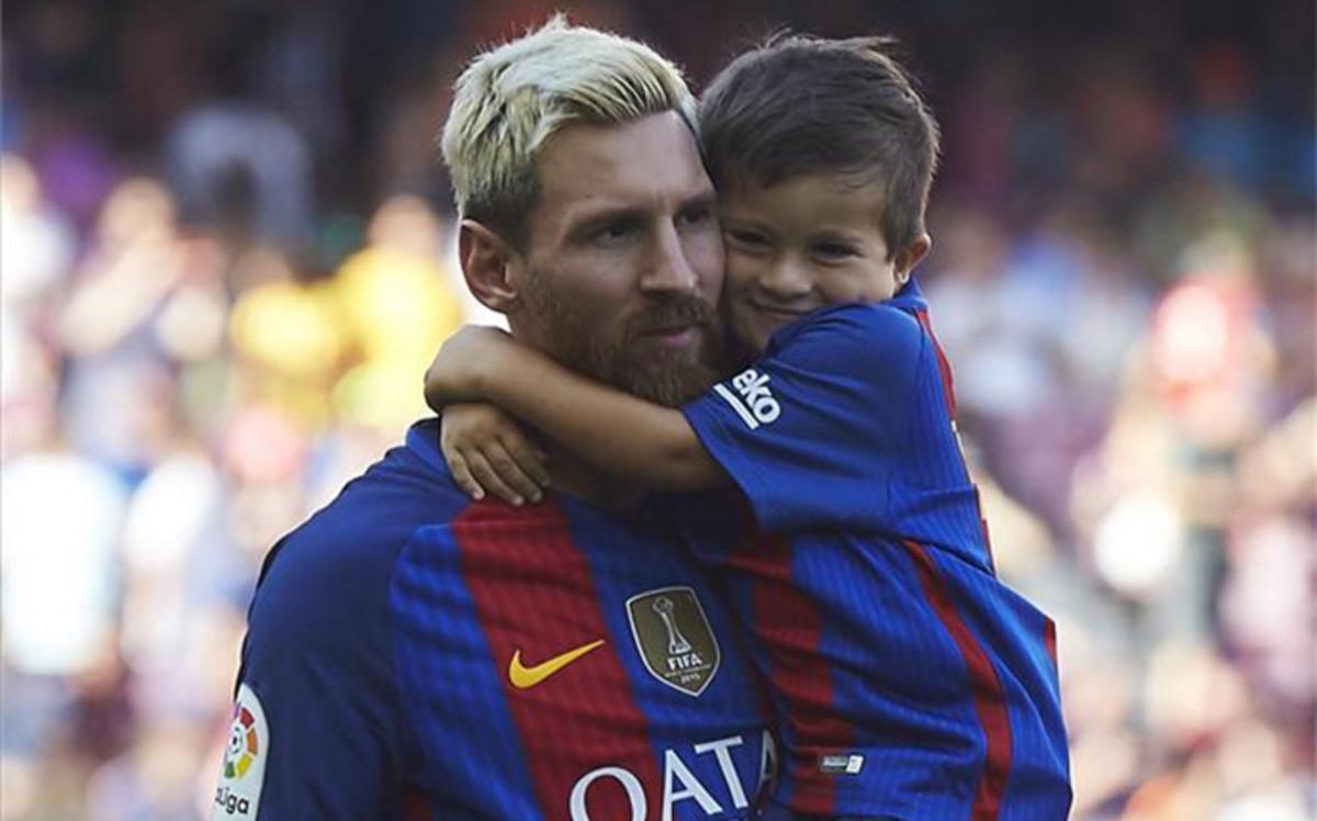 Syn Messiego dołączył do szkółki młodzieżowej FCBEscola
