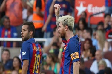Messi i Jordi Alba