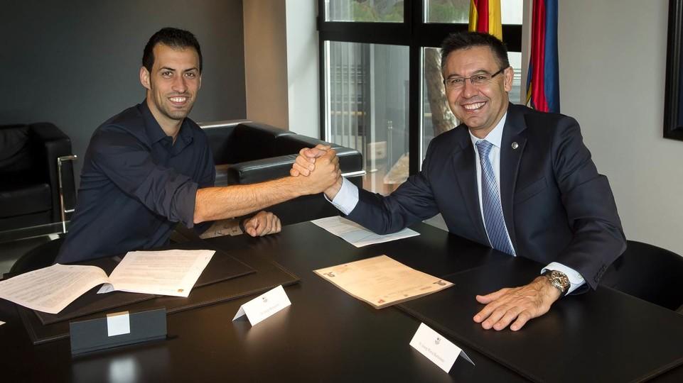 Sergio Busquets podpisał przedłużenie kontraktu!