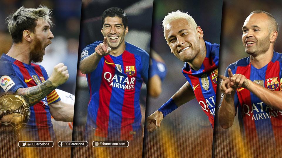 Czterech piłkarzy FC Barcelony nominowanych do Złotej Piłki