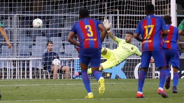 Barça B – Cornellà: Pokonani z 11 metrów (0:1)
