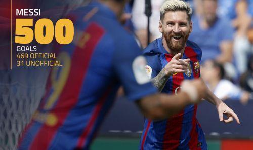 500 bramek Leo Messiego