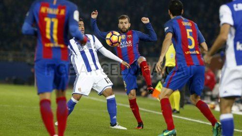 Luis Enrique: Real Sociedad był lepszy