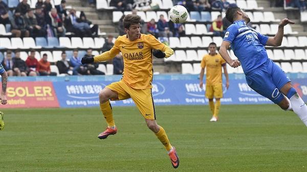 Lleida Esportiu – FC Barcelona B: Lider znów w Barcelonie (0:2)