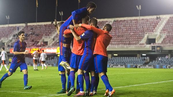 Barça B – Valencia Mestalla: Wciąż liderem! (3:1)