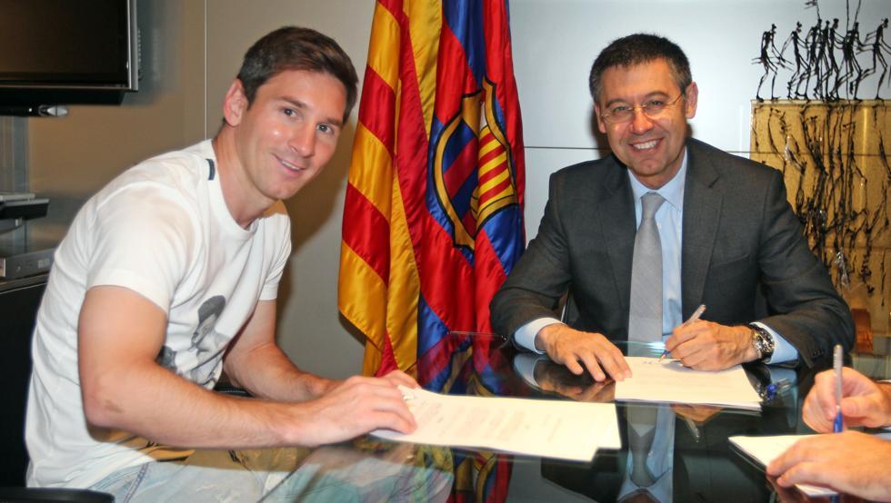 Leo Messi przedłuży kontrakt, kiedy sam będzie tego chciał