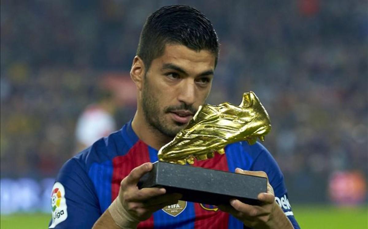 Suárez: Mój pierwszy Złoty But jest cenniejszy
