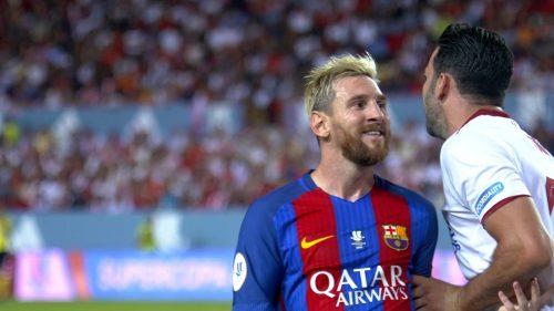 Messi lubi strzelać na Sánchez Pizjuán