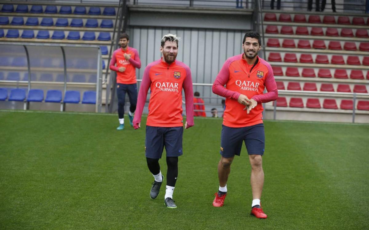 Leo Messi trenował z drużyną