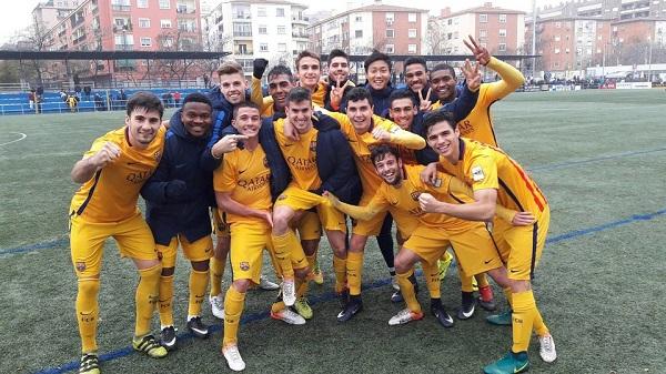 CD Ebro – Barça B: Lider na koniec roku! (1:2)