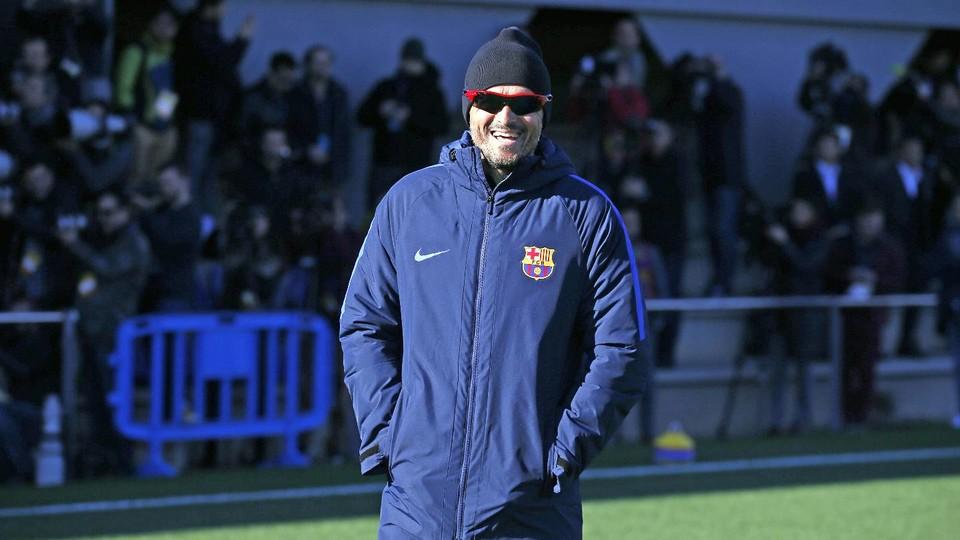 Luis Enrique: Ważne jest, aby jutro zwyciężyć