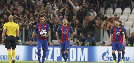 Neymar, Mascherano i Iniesta