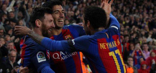 Leo Messi, Neymar, Luis Suarez