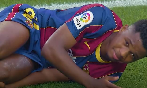 Wiemy już, ile potrwa przerwa Ansu Fatiego. FC Barcelona potwierdziła informacje