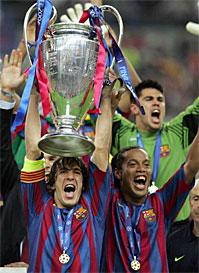 Liga Mistrzów w historii Barcelony