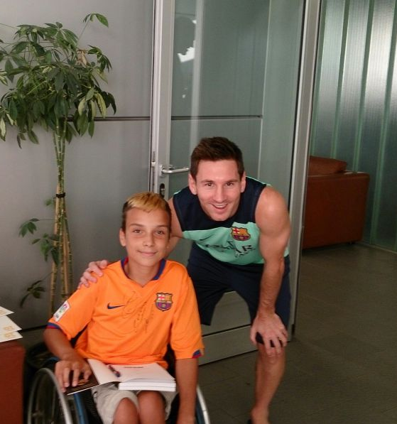 Robert i Messi